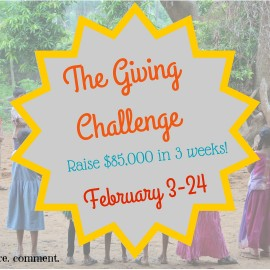 The 2016 Nourish Giving Challenge Begins Now!