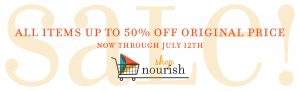 Shop Nourish Sale